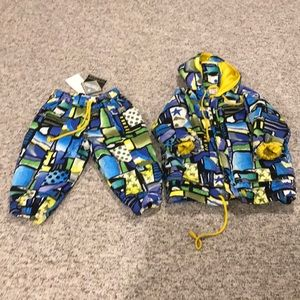 Snow Pants and Jacket Vintage by Young m   Size2T